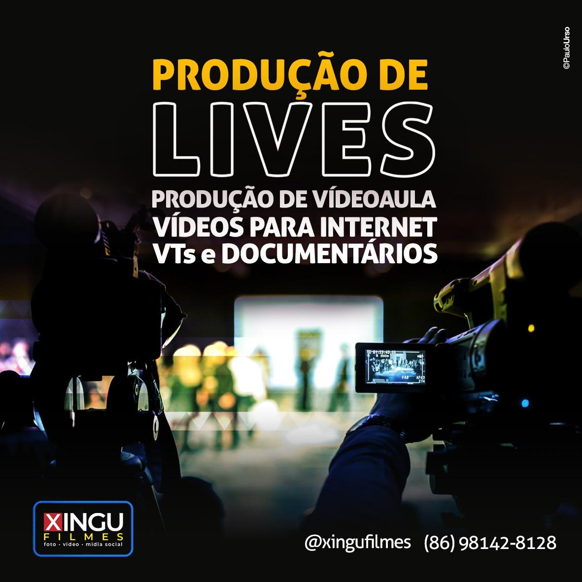 Produção de Lives